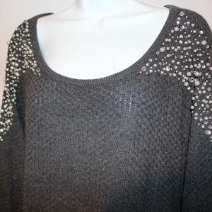 NWT Cato Beaded Sweater 22 24
